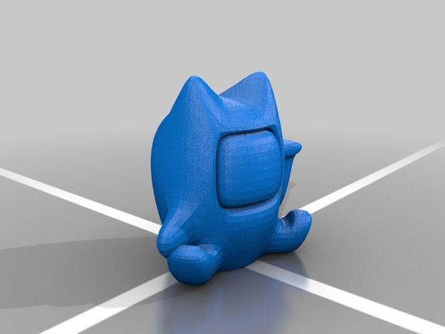 幸运猫和它的朋友们 3D模型  图2