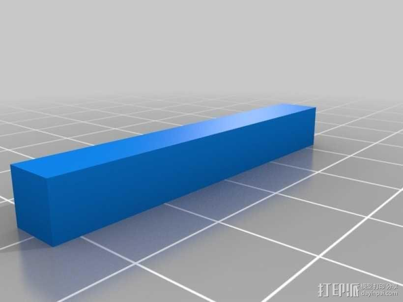 PLA汽车弹簧 滚动底盘 3D模型  图9