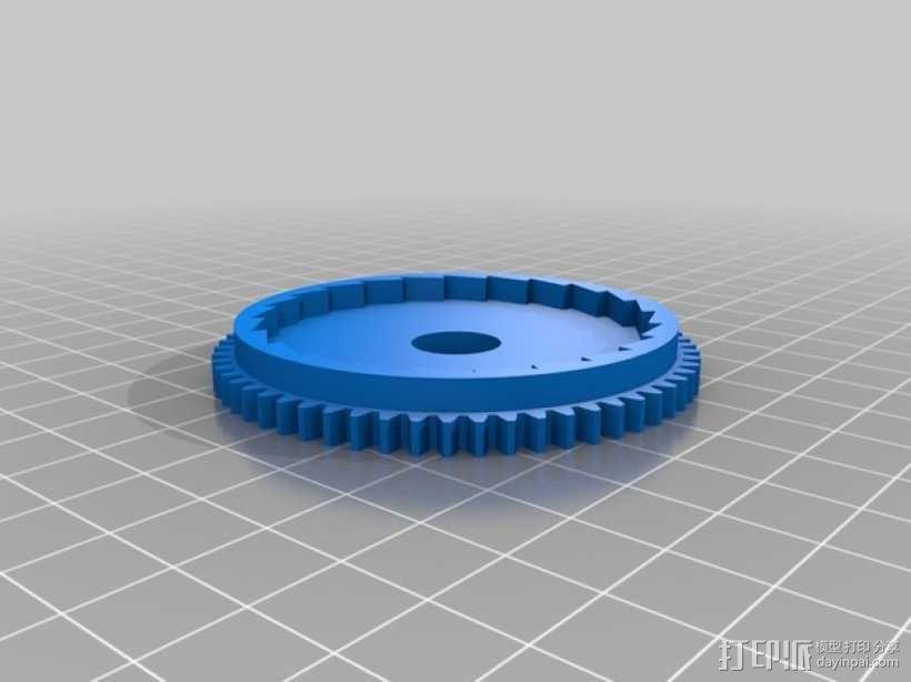 PLA汽车弹簧 滚动底盘 3D模型  图10