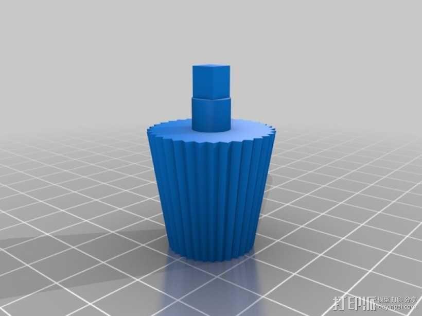 PLA汽车弹簧 滚动底盘 3D模型  图11