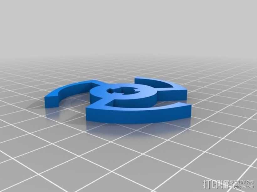 PLA汽车弹簧 滚动底盘 3D模型  图12