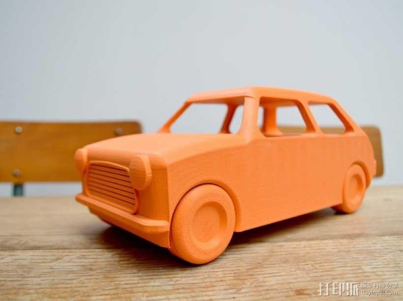 迷你小汽车 3D模型  图2