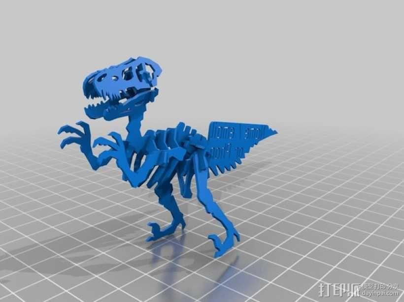 速龙名片 3D模型  图5