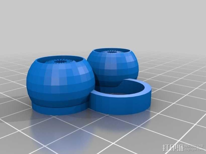 变色龙眼睛玩具 3D模型  图5