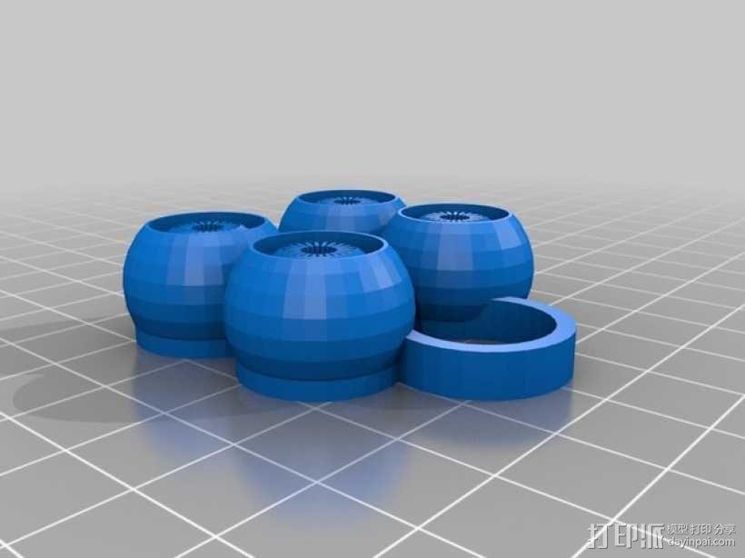 变色龙眼睛玩具 3D模型  图6
