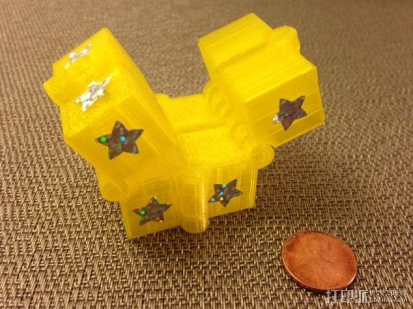 可随意折叠的魔方 3D模型  图2