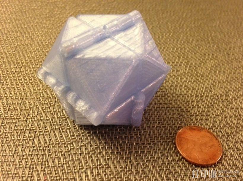 可随意折叠的魔方 3D模型  图3