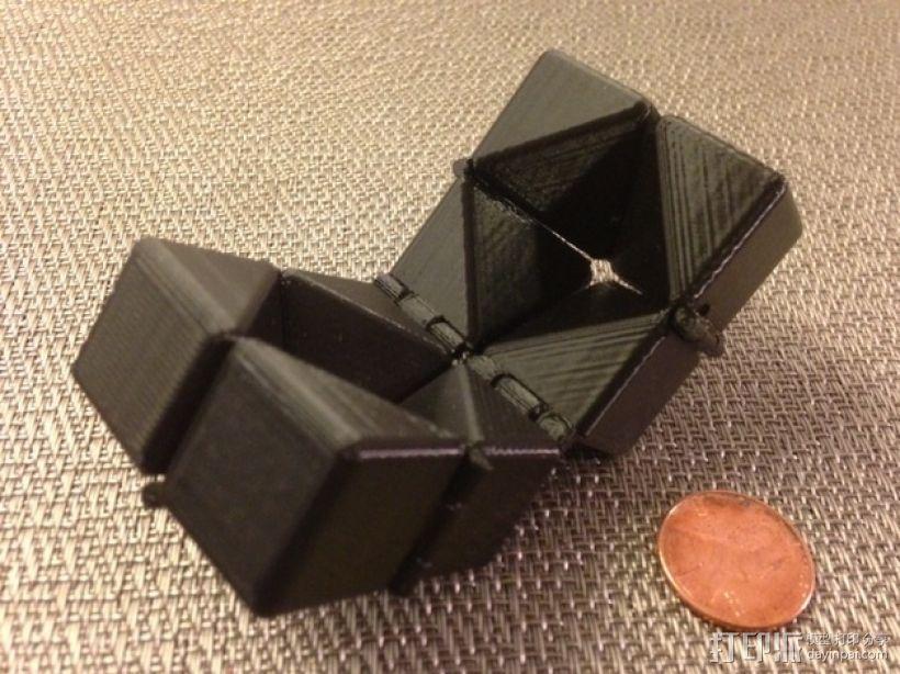 可随意折叠的魔方 3D模型  图4