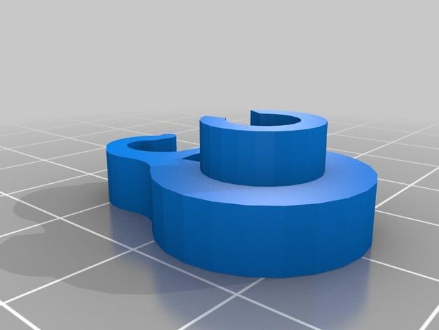 可上锁的礼物盒 3D模型  图2