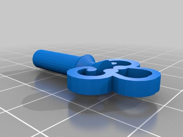 可上锁的礼物盒 3D模型  图5