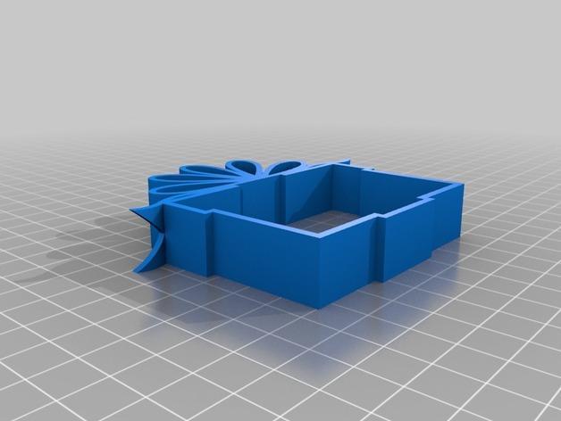 可上锁的礼物盒 3D模型  图4