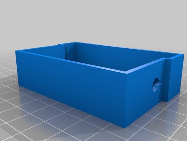 可上锁的礼物盒 3D模型  图8