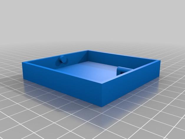 可上锁的礼物盒 3D模型  图6