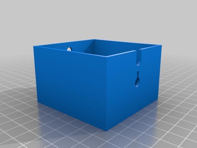 可上锁的礼物盒 3D模型  图9