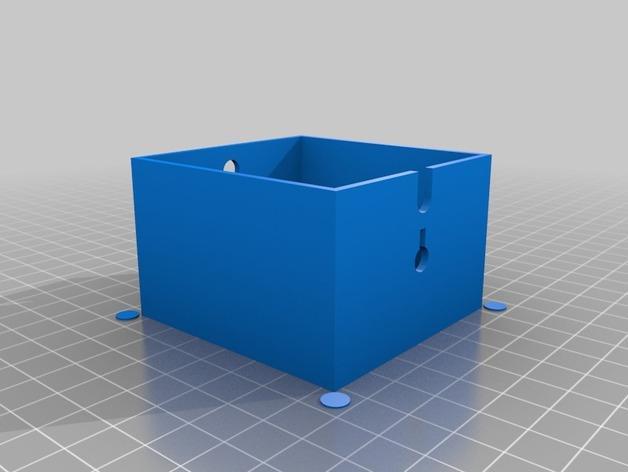 可上锁的礼物盒 3D模型  图11