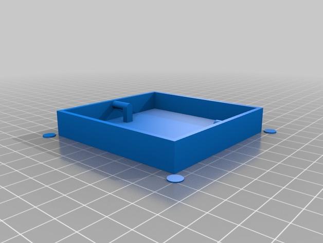 可上锁的礼物盒 3D模型  图12