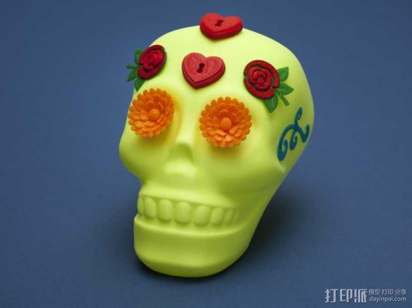 个性化骷髅头 3D模型  图2
