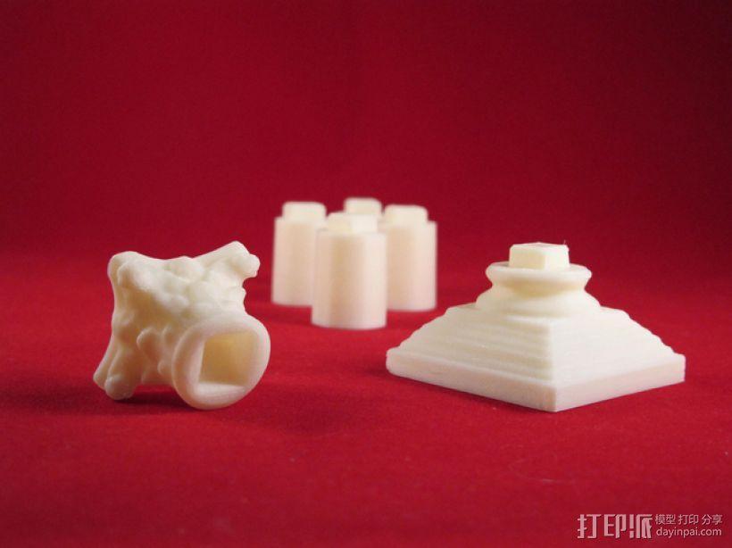 Seej柱子 3D模型  图1