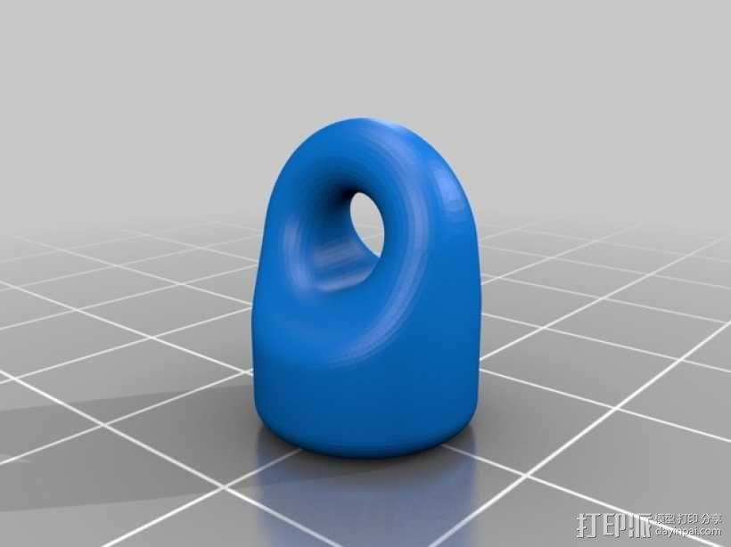 迷你滑轮 3D模型  图6