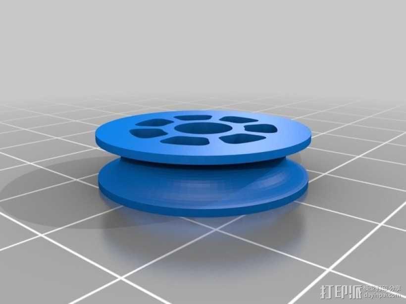 迷你滑轮 3D模型  图7