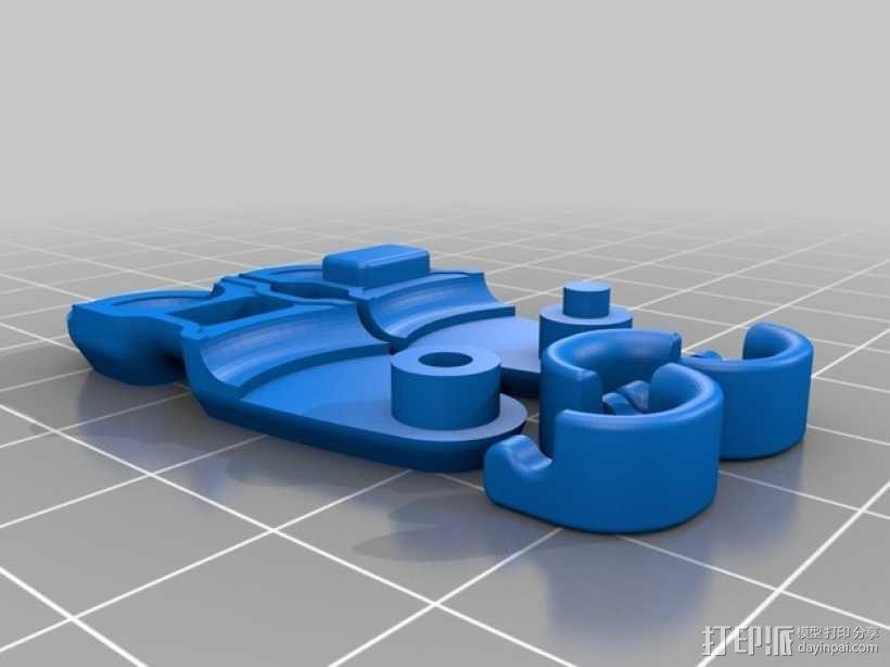 迷你滑轮 3D模型  图8