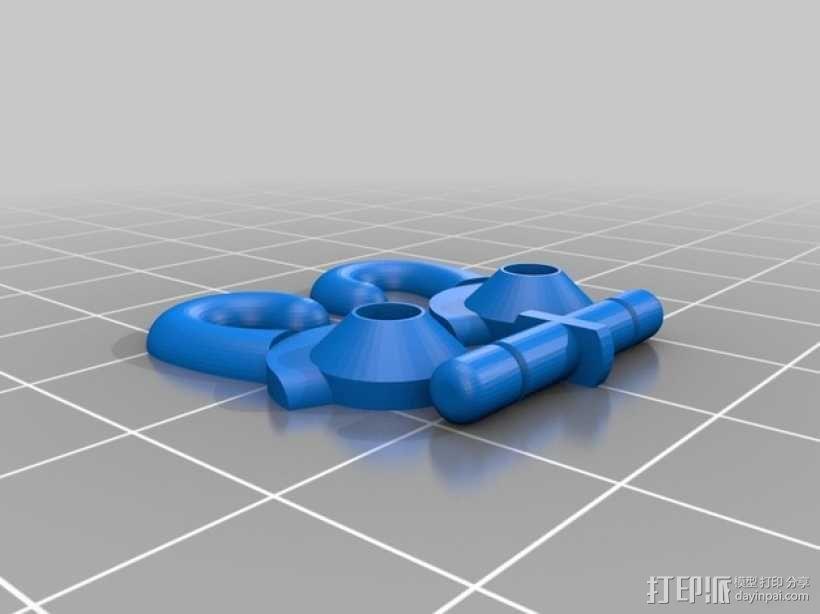 迷你滑轮 3D模型  图10