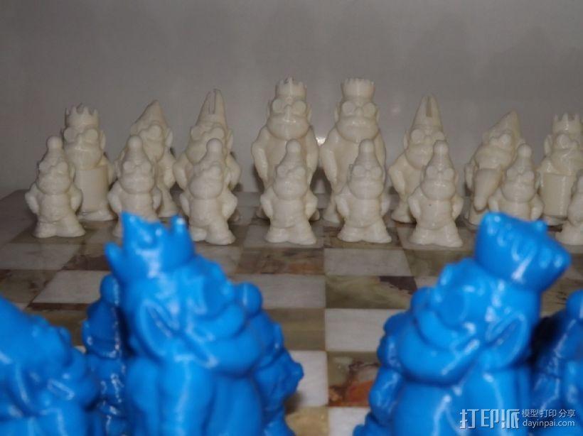 精灵象棋 3D模型  图2