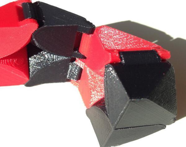 可折叠立方体 3D模型  图3