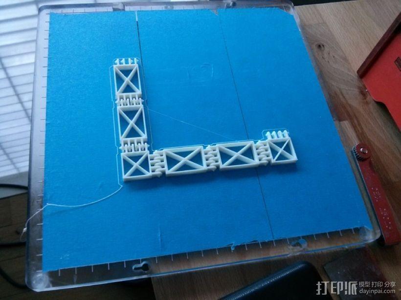可定制联动装置 3D模型  图2