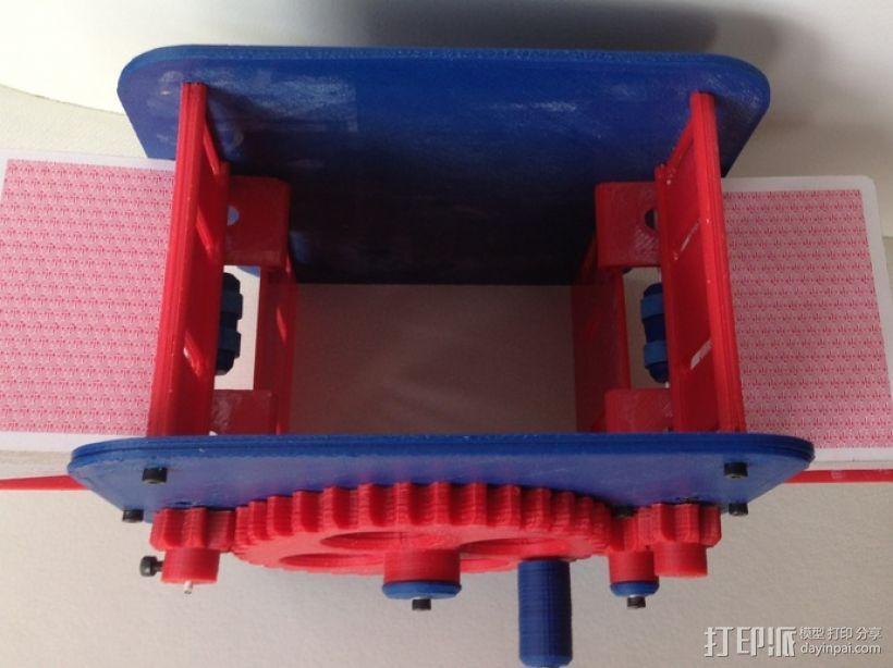 手动洗牌装置 3D模型  图4