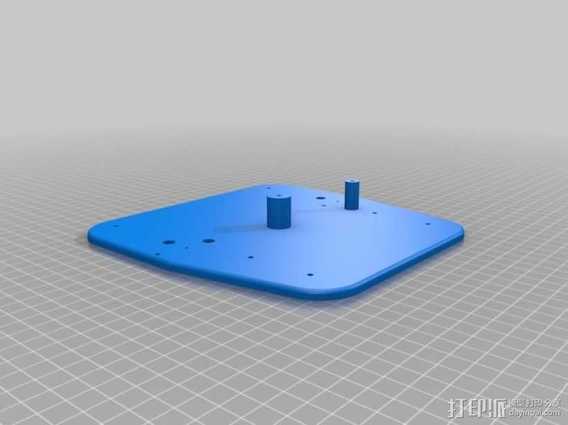 手动洗牌装置 3D模型  图8