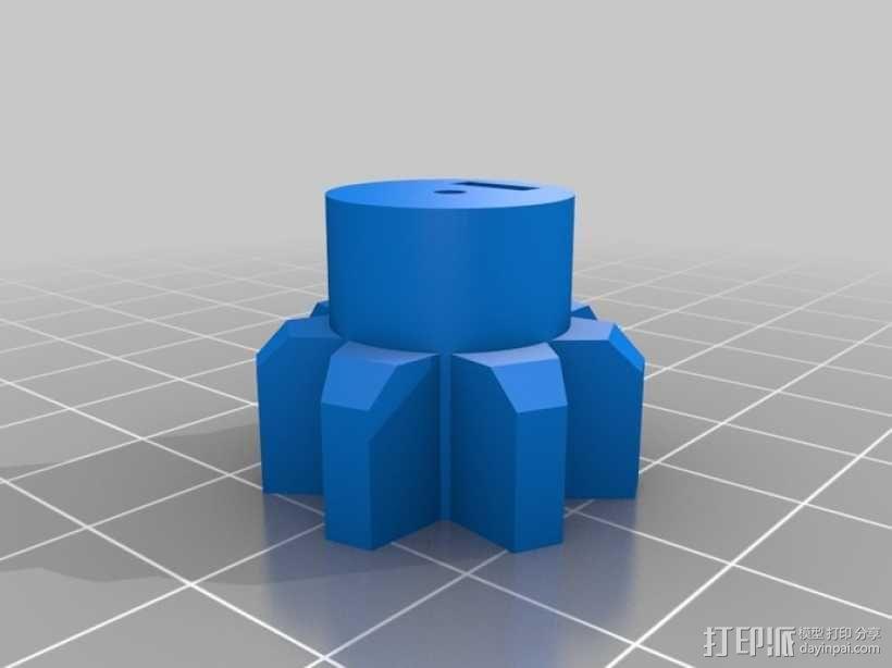 手动洗牌装置 3D模型  图7