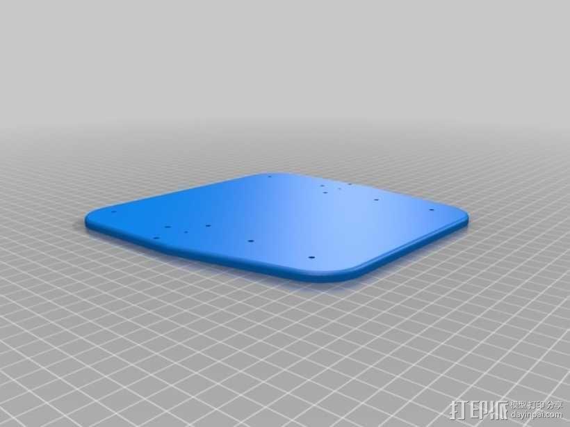 手动洗牌装置 3D模型  图13