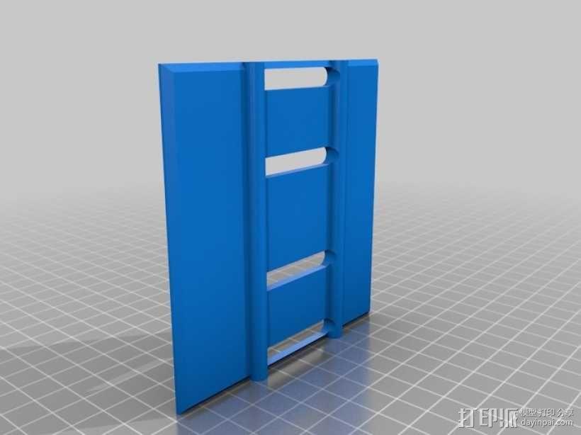 手动洗牌装置 3D模型  图17