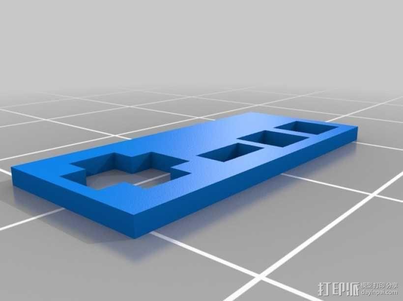 迷你任天堂娱乐装置 3D模型  图3