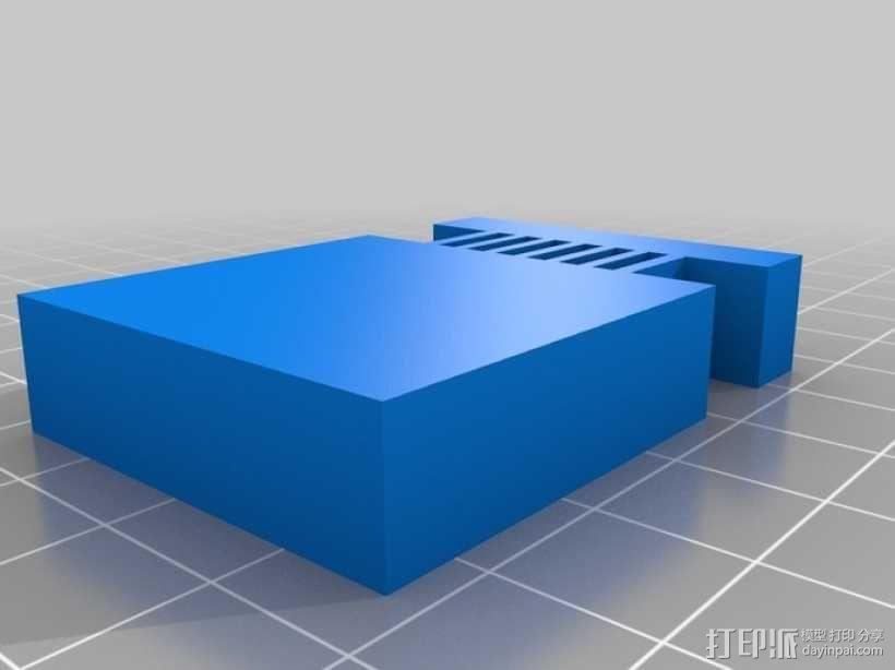 迷你任天堂娱乐装置 3D模型  图4