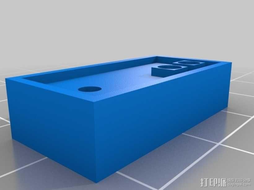 迷你任天堂娱乐装置 3D模型  图6