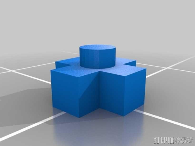 迷你任天堂娱乐装置 3D模型  图7
