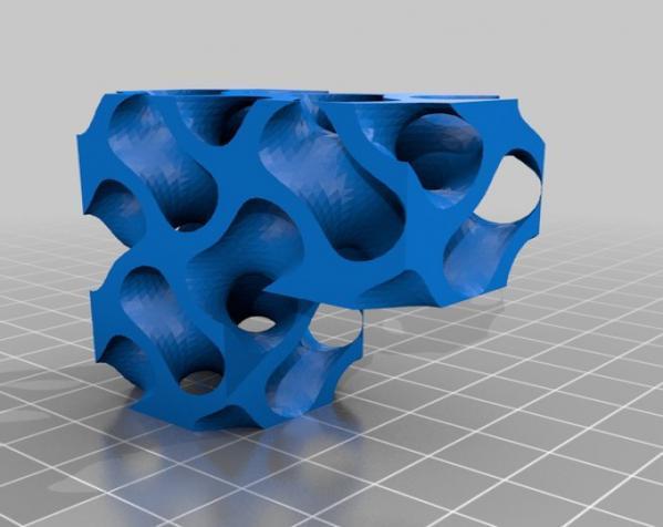 Gyroid Soma立方体拼图 3D模型  图2