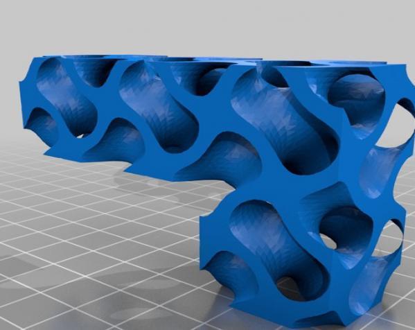 Gyroid Soma立方体拼图 3D模型  图3