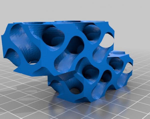 Gyroid Soma立方体拼图 3D模型  图5