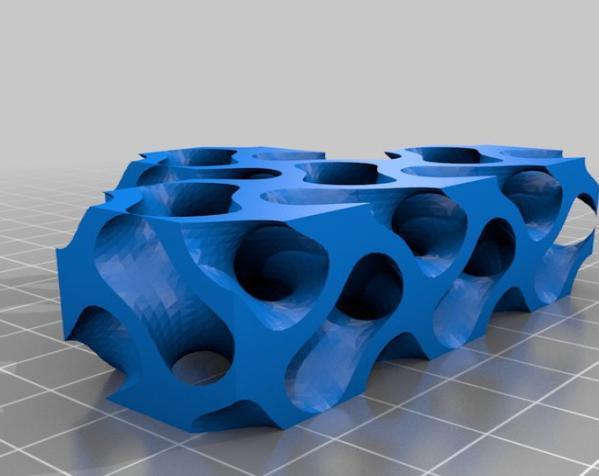 Gyroid Soma立方体拼图 3D模型  图6