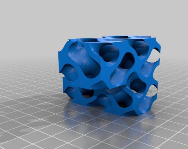 Gyroid Soma立方体拼图 3D模型  图7