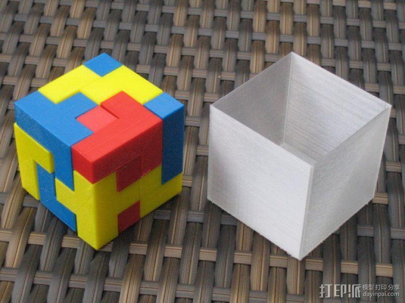 拼装立方体 3D模型  图1