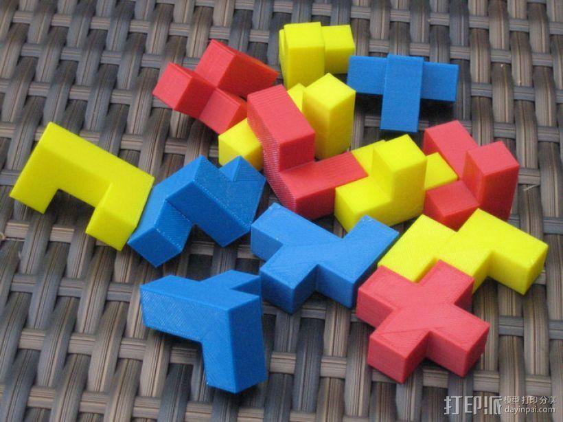 拼装立方体 3D模型  图2