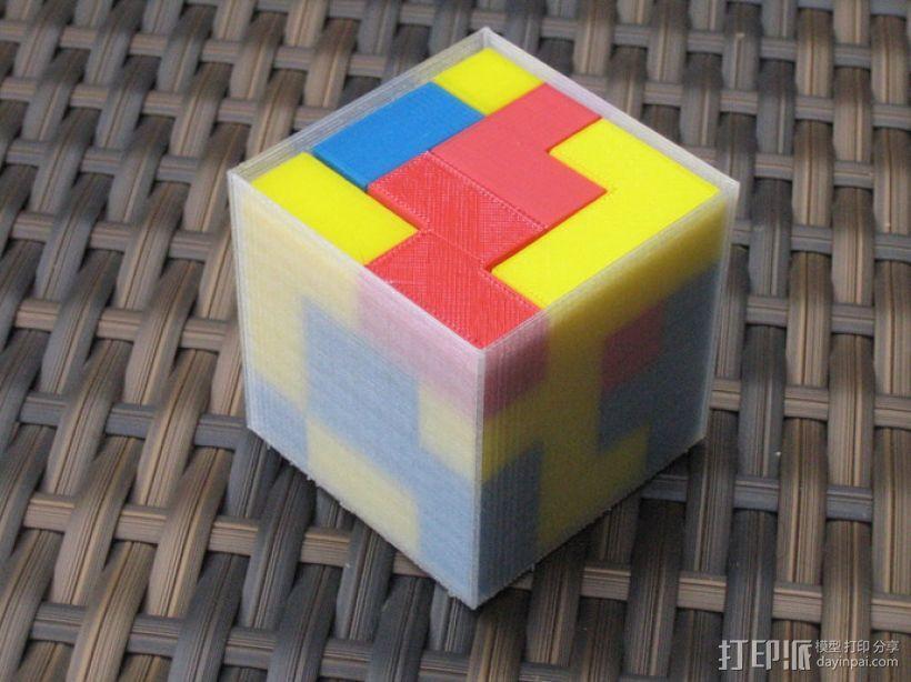 拼装立方体 3D模型  图3