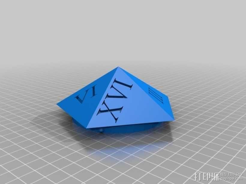 多面体骰子收纳盒 3D模型  图5