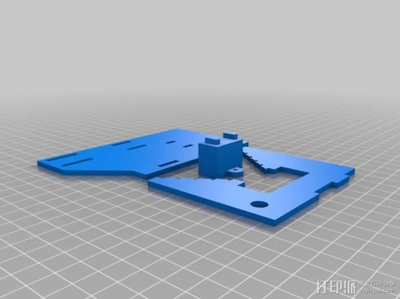机械化联动装置 3D模型  图4