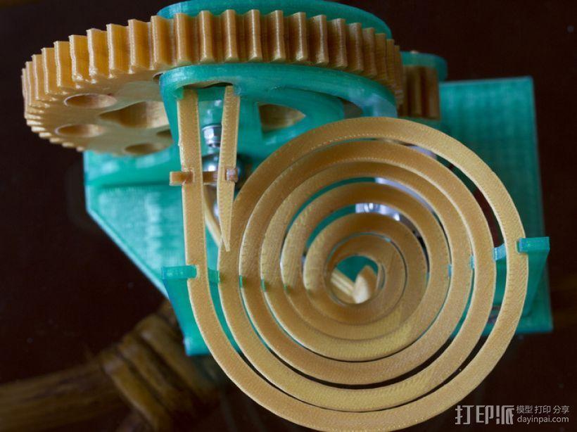 机械化联动装置 3D模型  图7