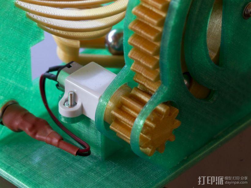 机械化联动装置 3D模型  图8